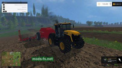 Трактор JCB 4220 для Фермер Симулятор 2015
