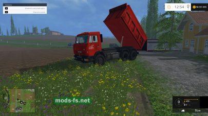 КамАЗ-65115 самосвал для фермы