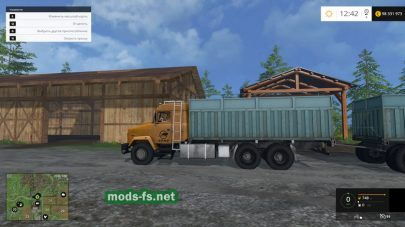 Большой КРАЗ для фермы