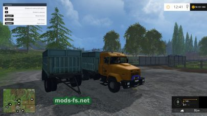 КРАЗ для Farming Simulator 2015