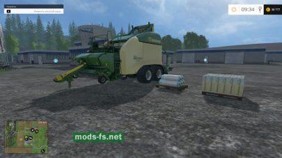 Пресс-подборщик для Фермер Симулятор 2015