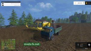 Мод МАЗ-500 для Farming Simulator 2015