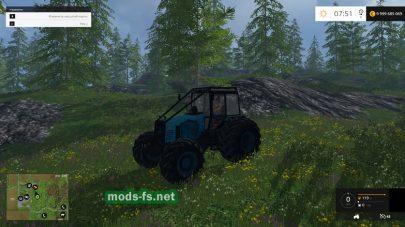 МТЗ-1221: версия для леса