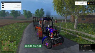 Тюнинг версия трактора МТЗ для фермы