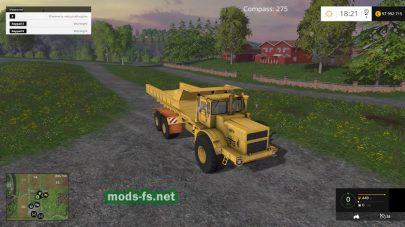 Три трактора К700 для FS 2015