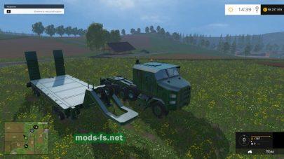 Тягач Oshkosh M1070