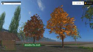 Осенние деревья для FS 2015