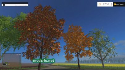 placeable herbst trees