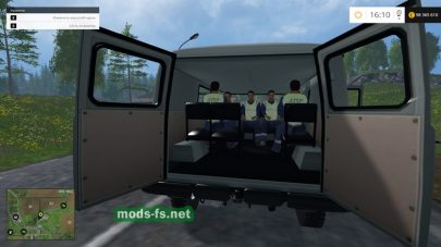 Мод УАЗ-3909 «Полиция»