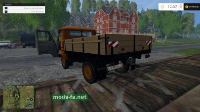 Бортовой Мод УАЗ-452Д