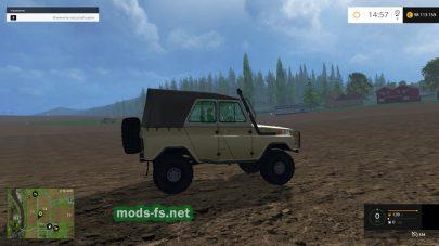Русский мод УАЗ-469
