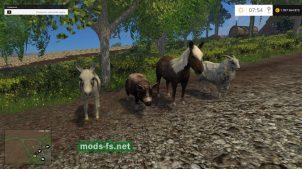 Объект для карты в FS 2015: животные