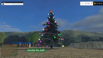 Новогодняя елка для FS 2015