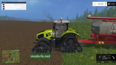 Мод CLAAS AXION 950
