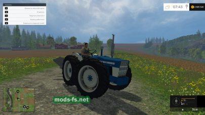 Трактор FORD COUNTY