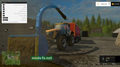 Навесной подборщик для фермы