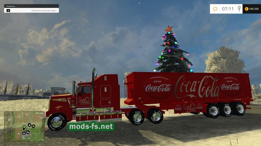 Грузовик Coca-Cola для Farming Simulator 2015
