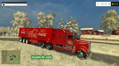 Kenworth CocaCola Truck and CocaCola
