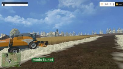 Зимнее дополнение для Farming Simulator 2015
