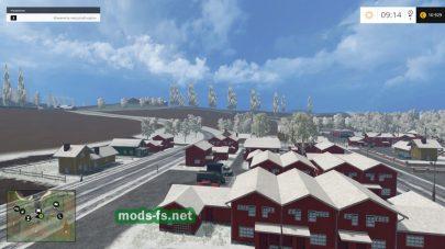 Карта «Bjornhilmwinter» — зима