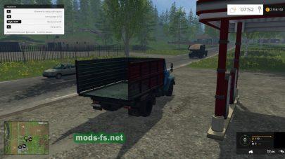 Мод русской грузовой машины