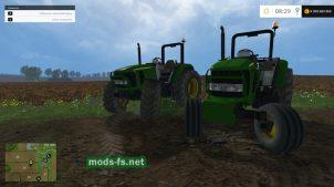Пак тракторов John Deere 5055