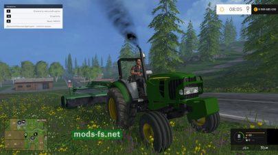 Трактор без крыши для FS 2015