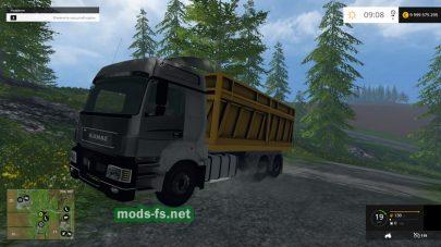 Русский КамАЗ-5490