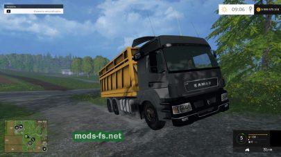 Мод КамАЗ-5490