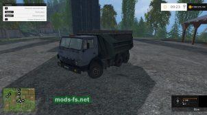 Мод самосвала КамАЗ-55111