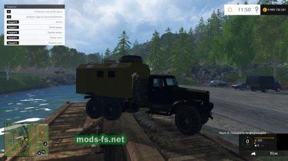Мод грузовика КРАЗ 255
