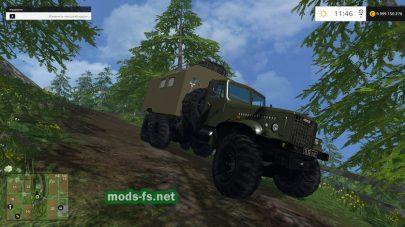 КРАЗ 255 (Kungom) для FS 2015