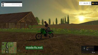 Эндуро мотоцикл для FS 2015