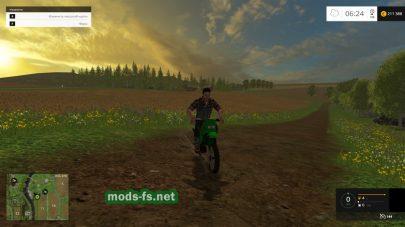 Мотоцикл Кавасаки для фермы