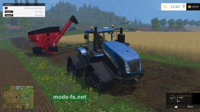 Мод трактора New Holland T9.700