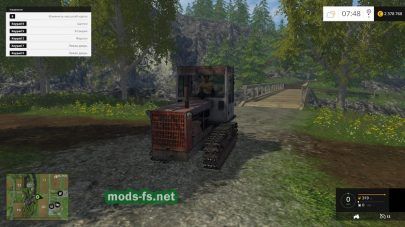 Мод T-4A.01 Crawler Tractor V1.0