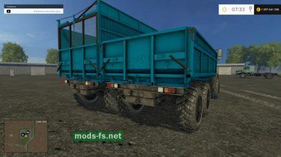 Мод грузового УРАЛа для фермы