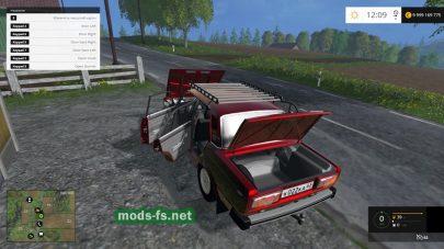 Мод автомобиля «пятерка» для FS 2015