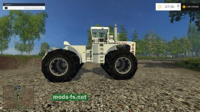 Мод трактора Big Bud 16V