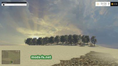 Снег в Farming Simulator 2015