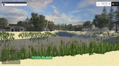 Красивая природа в Farming Simulator 2015