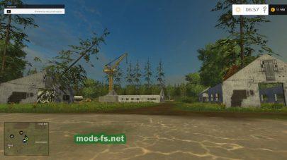 Карта Медведево v 1.1 для Farming Simulator 2015