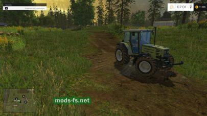 Трактора на карте Мдведево