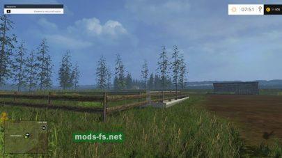 Карта для Farming Simulator 2015 с красивой природой