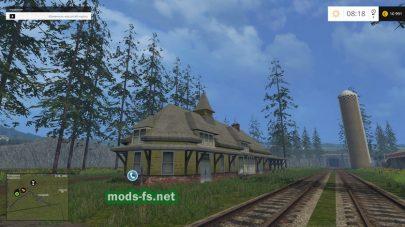 Вокзал и железная дорога
