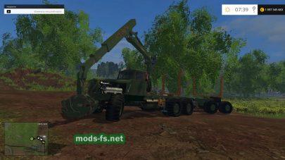 КРАЗ для перевозки леса в FS 2015