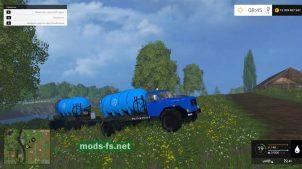 Magirus Wasser Pack для FS 2015