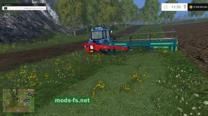 Косилка для травы в FS 2015