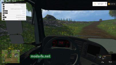Мод КамАЗ-6490: фото с кабины