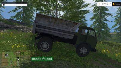 Бортовая машина МАЗ-500